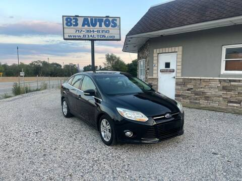 2012 Ford Focus for sale at 83 Autos in York PA