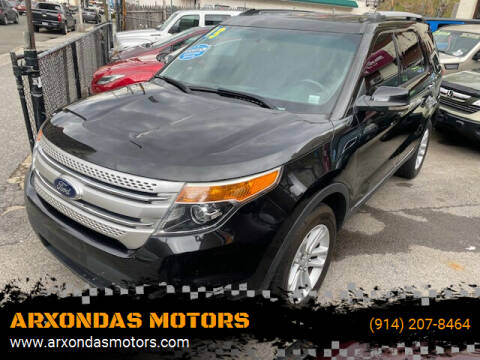 2013 Ford Explorer for sale at ARXONDAS MOTORS in Yonkers NY