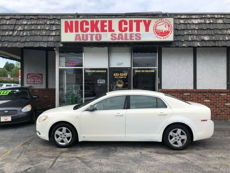 2008 Chevrolet Malibu for sale at NICKEL CITY AUTO SALES in Lockport NY