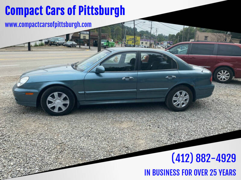 2004 Hyundai Sonata for sale at Compact Cars of Pittsburgh in Pittsburgh PA