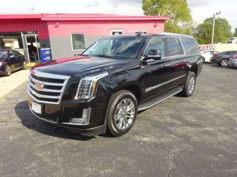 2016 Cadillac Escalade ESV for sale at Used Car Factory Sales & Service in Troy OH