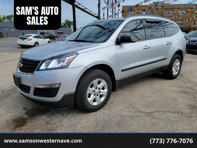 2016 Chevrolet Traverse for sale at SAM'S AUTO SALES in Chicago IL