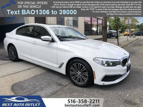 2019 BMW 5 Series for sale at Best Auto Outlet in Floral Park NY