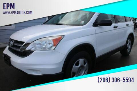 2011 Honda CR-V for sale at EPM in Auburn WA