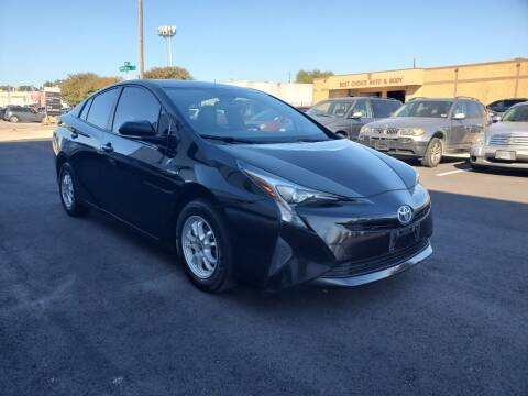 2016 Toyota Prius for sale at Image Auto Sales in Dallas TX