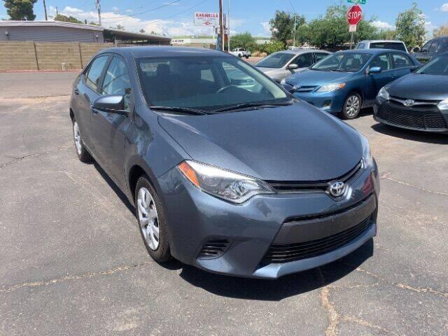 2016 Toyota Corolla for sale at Brown & Brown Auto Center in Mesa AZ