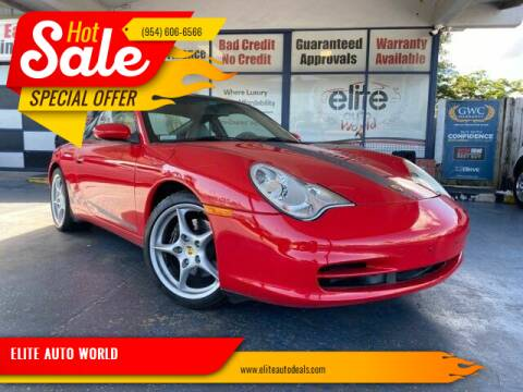 2004 Porsche 911 for sale at ELITE AUTO WORLD in Fort Lauderdale FL