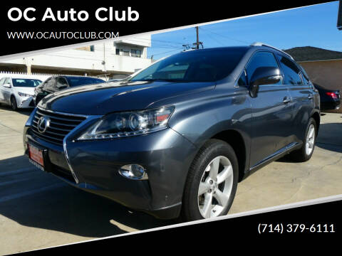 2015 Lexus RX 350 for sale at OC Auto Club in Midway City CA