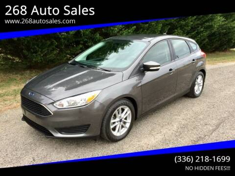 2017 Ford Focus for sale at 268 Auto Sales in Dobson NC