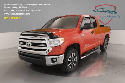 2016 Toyota Tundra for sale at Elvis Auto Sales LLC in Grand Rapids MI