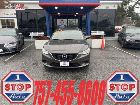 2016 Mazda MAZDA6 for sale at 1 Stop Auto in Norfolk VA
