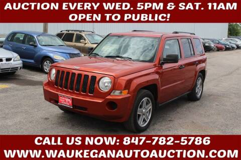 2008 Jeep Patriot for sale at Waukegan Auto Auction in Waukegan IL