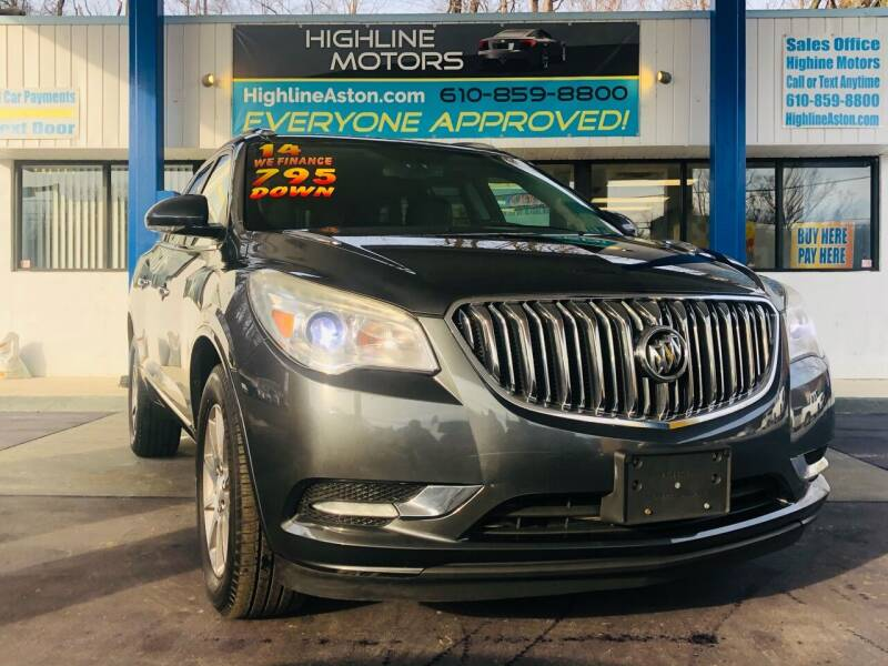 2014 Buick Enclave for sale at Highline Motors in Aston PA