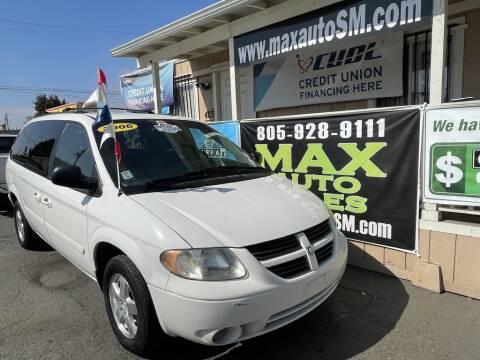 2006 Dodge Grand Caravan for sale at Max Auto Sales in Santa Maria CA