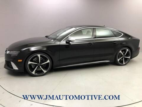 2017 Audi RS 7 for sale at J & M Automotive in Naugatuck CT