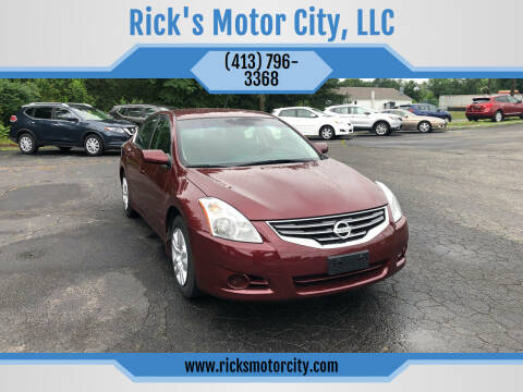 2010 Nissan Altima for sale at Rick's Motor City, LLC in Springfield MA