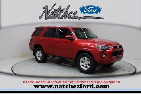 2014 Toyota 4Runner for sale at Auto Group South - Natchez Ford Lincoln in Natchez MS