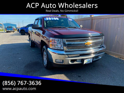 2013 Chevrolet Silverado 1500 for sale at ACP Auto Wholesalers in Berlin NJ