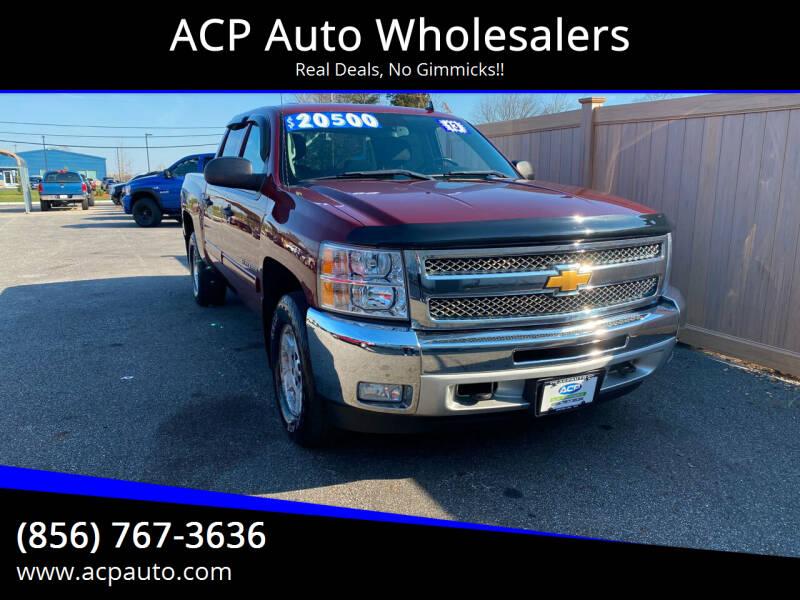 2013 Chevrolet Silverado 1500 for sale at ACP Auto Wholesalers in Berlin NJ