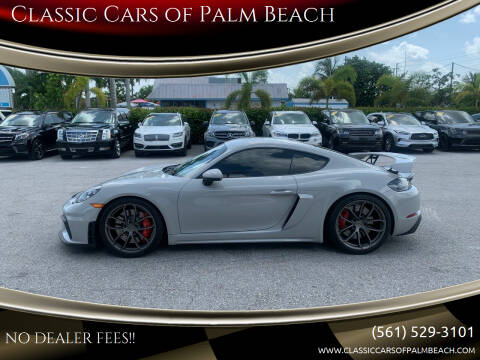 2020 Porsche 718 Cayman for sale at Classic Cars of Palm Beach in Jupiter FL