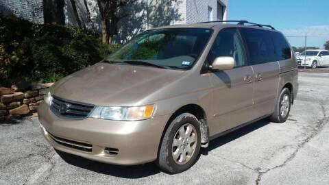 2002 Honda Odyssey for sale at BJ International Auto LLC in Dallas TX
