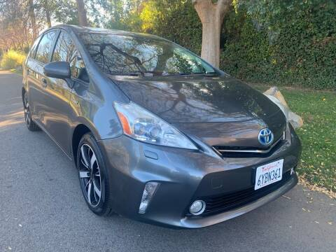 2012 Toyota Prius v for sale at Car Lanes LA in Valley Village CA