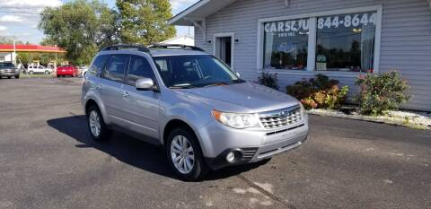 2012 Subaru Forester for sale at Cars 4 U in Liberty Township OH