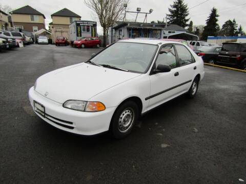 1995 Honda Civic for sale at ARISTA CAR COMPANY LLC in Portland OR