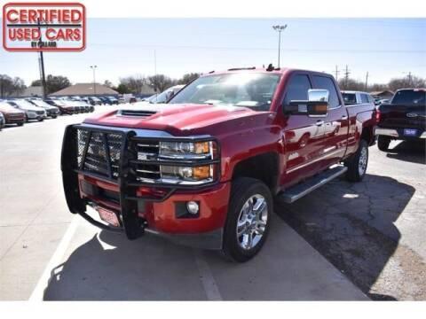 2018 Chevrolet Silverado 2500HD for sale at South Plains Autoplex by RANDY BUCHANAN in Lubbock TX