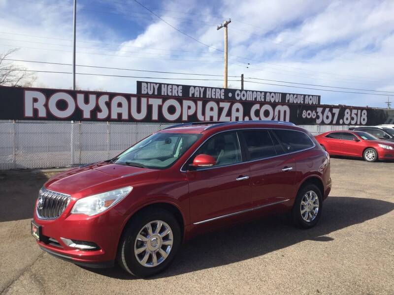 2014 Buick Enclave for sale at Roy's Auto Plaza 2 in Amarillo TX