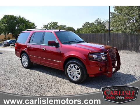 2014 Ford Expedition for sale at Carlisle Motors in Lubbock TX
