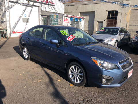 2013 Subaru Impreza for sale at Riverside Wholesalers 2 in Paterson NJ