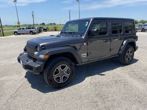 2018 Jeep Wrangler Unlimited for sale at ATASCOSA CHRYSLER DODGE JEEP RAM in Pleasanton TX