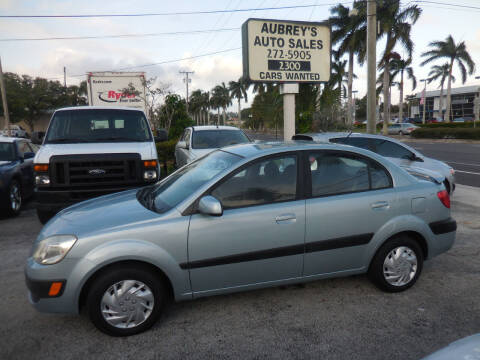 2007 Kia Rio for sale at Aubrey's Auto Sales in Delray Beach FL