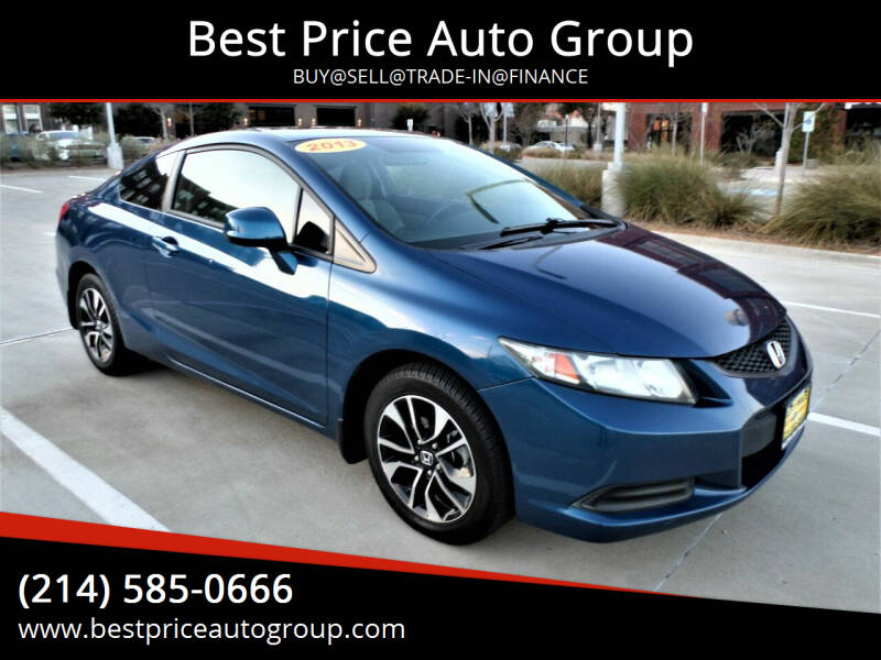 2013 Honda Civic for sale at Best Price Auto Group in Mckinney TX