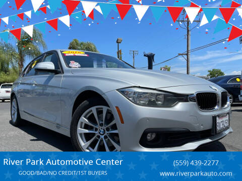 2016 BMW 3 Series for sale at River Park Automotive Center in Fresno CA