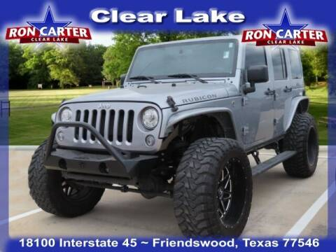 2017 Jeep Wrangler Unlimited for sale at Ron Carter  Clear Lake Used Cars in Houston TX