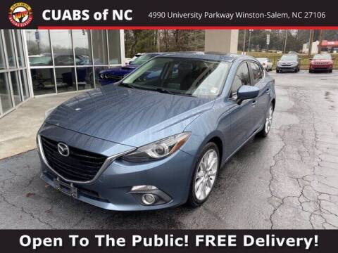 2014 Mazda MAZDA3 for sale at Credit Union Auto Buying Service in Winston Salem NC