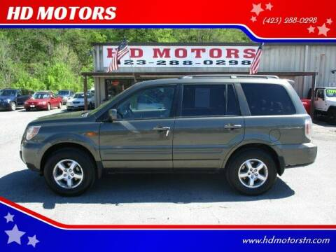 2006 Honda Pilot for sale at HD MOTORS in Kingsport TN