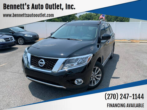 2013 Nissan Pathfinder for sale at Bennett's Auto Outlet, Inc. in Mayfield KY