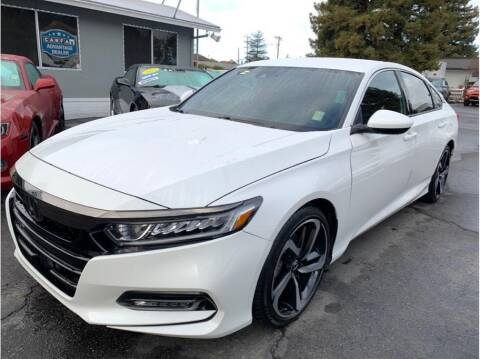 2018 Honda Accord for sale at AutoDeals in Hayward CA