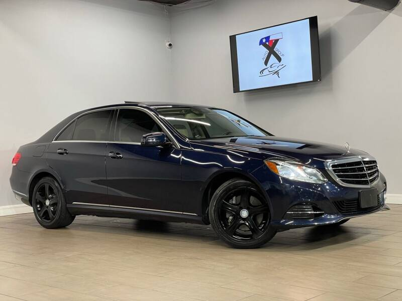 2014 Mercedes-Benz E-Class for sale at TX Auto Group in Houston TX