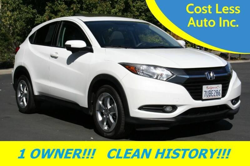 2016 Honda HR-V for sale at Cost Less Auto Inc. in Rocklin CA