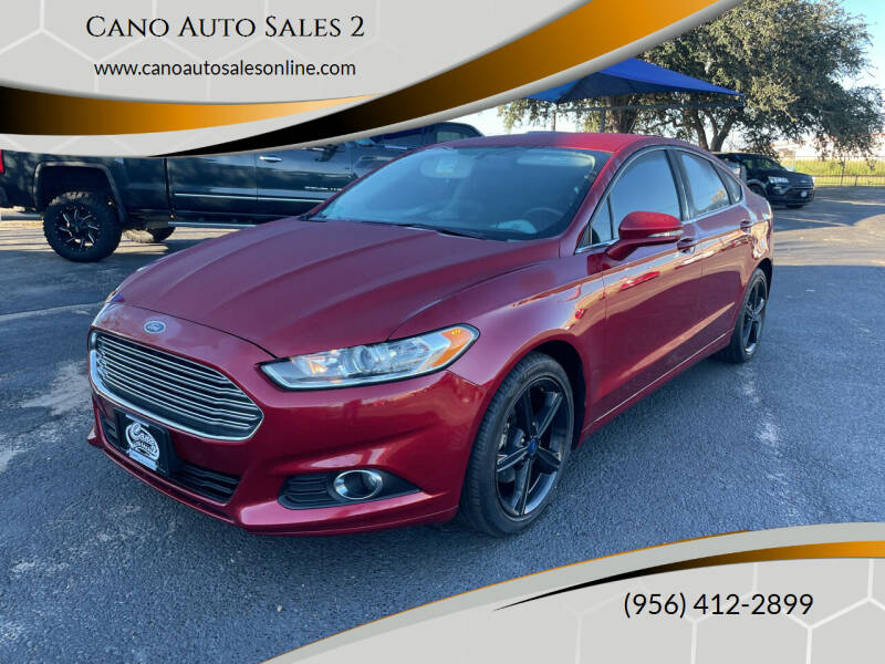 2016 Ford Fusion for sale at Cano Auto Sales 2 in Harlingen TX