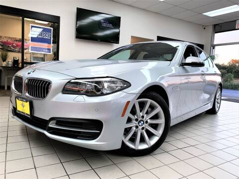 2014 BMW 5 Series for sale at SAINT CHARLES MOTORCARS in Saint Charles IL