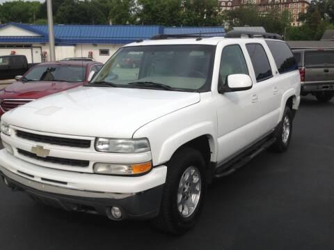 2004 Chevrolet Suburban for sale at Sindic Motors in Waukesha WI