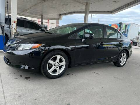 2012 Honda Civic for sale at JE Auto Sales LLC in Indianapolis IN