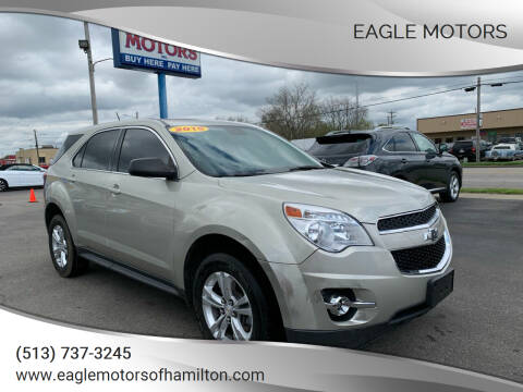 2015 Chevrolet Equinox for sale at Eagle Motors in Hamilton OH