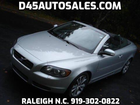 2010 Volvo C70 for sale at D45 Auto Brokers in Raleigh NC