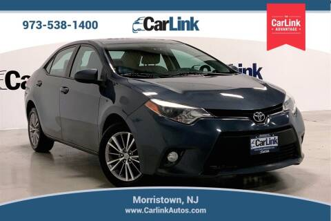 2014 Toyota Corolla for sale at CarLink in Morristown NJ